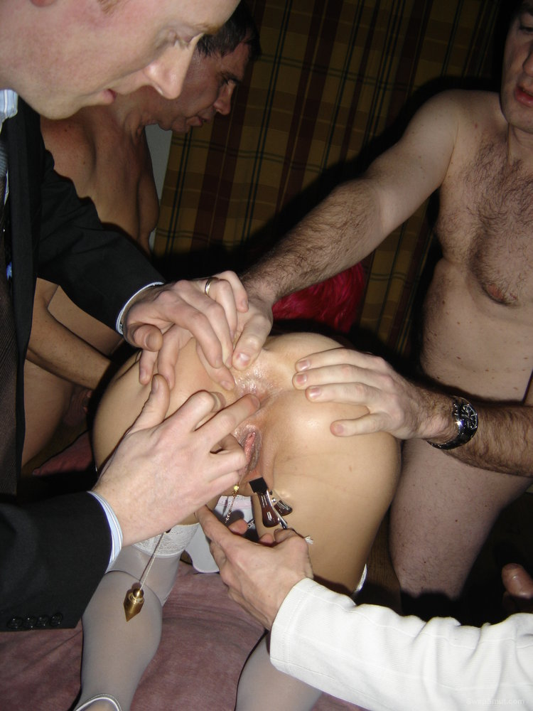 Swinger wife gangbang russian