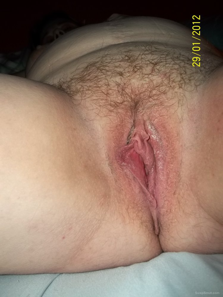 wife with cum filled pussy after date bobs and vagene