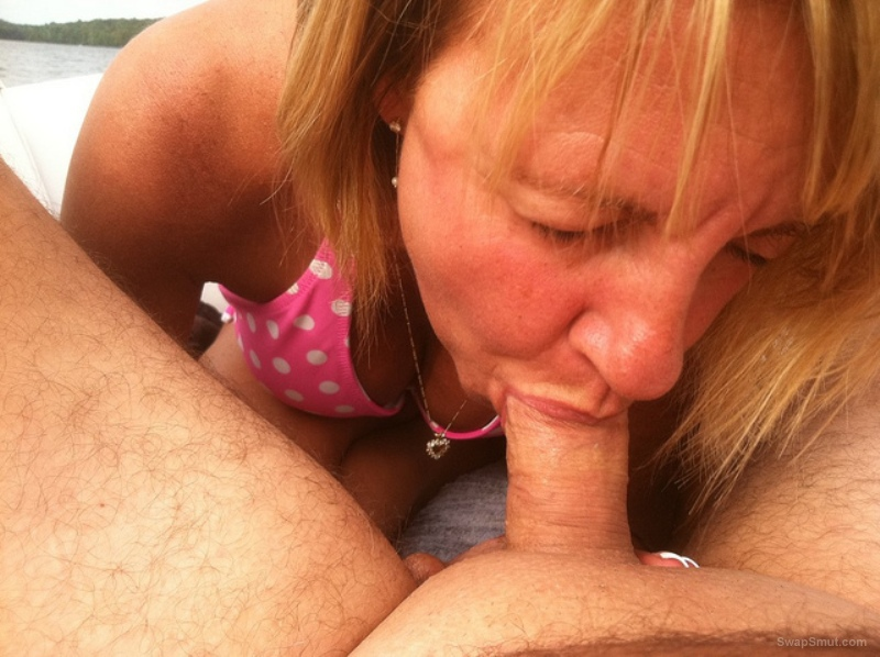 cock Mature sucking amateur wife