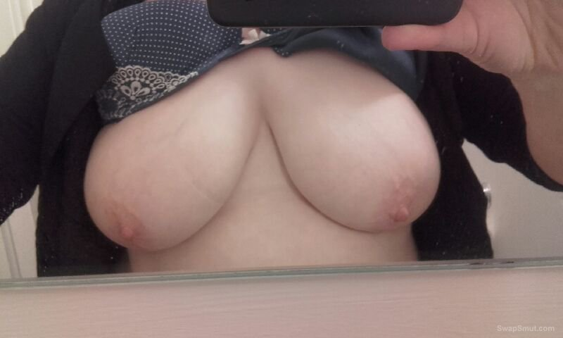 Wifes big tits what do you think