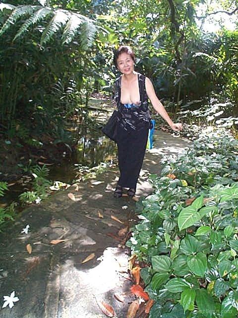 In A Public Garden