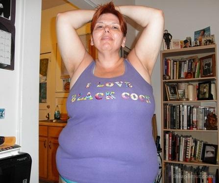 A fat slut wife thats craves black cock huge natural tits very curvy