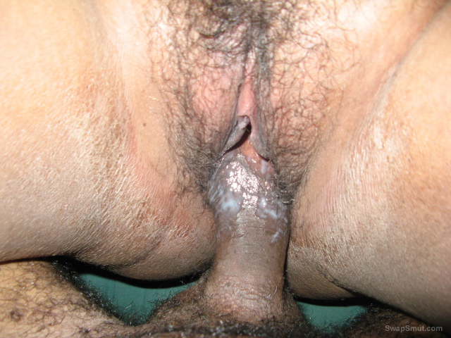 Wife shared and fucked until she cums on buddy's cock pussy cream