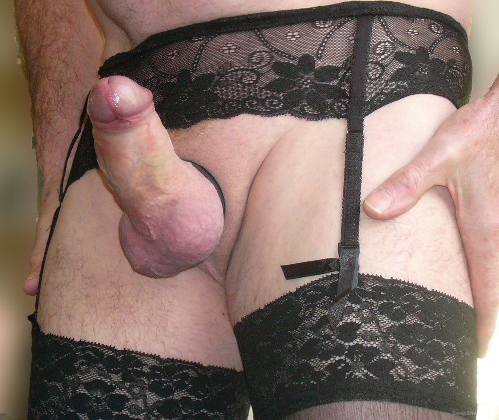 Suspender Cock Ring Thong