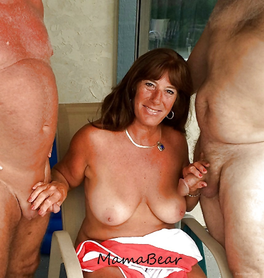 Mama loves to fuck and suck with a group