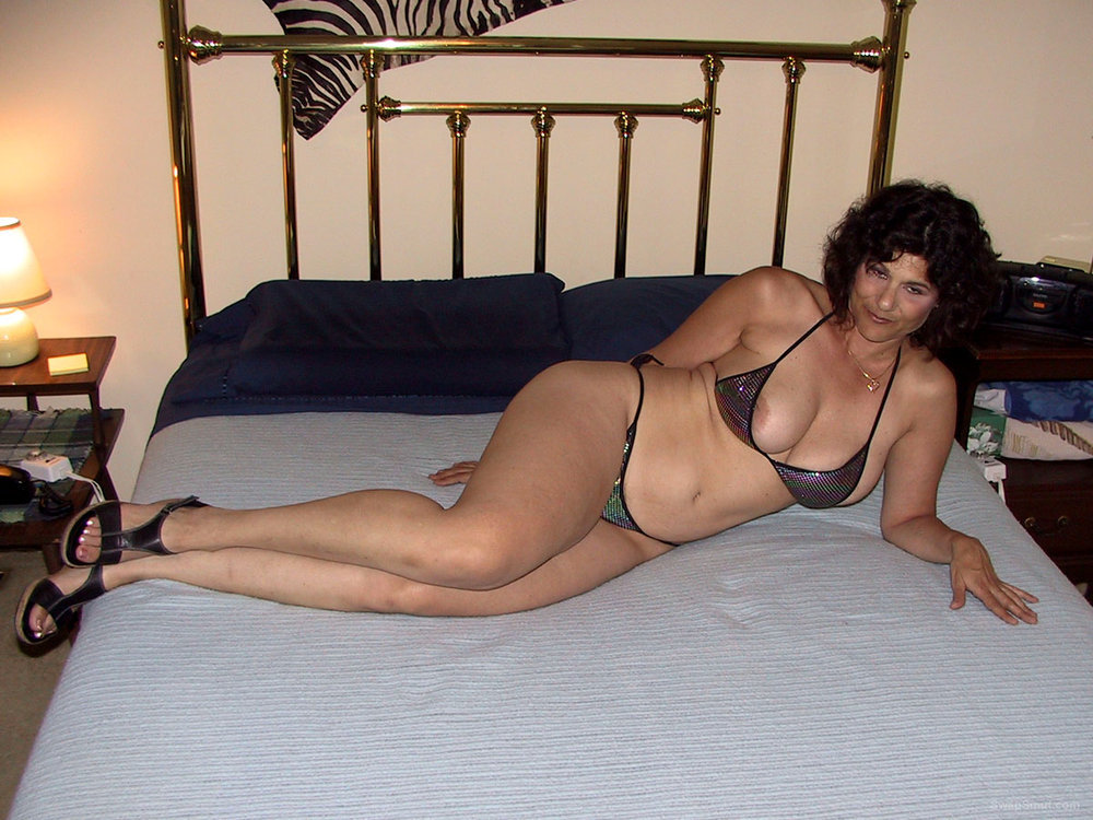 Hot Wife Lusy Wears a Perfectly Great Fitting Bikini