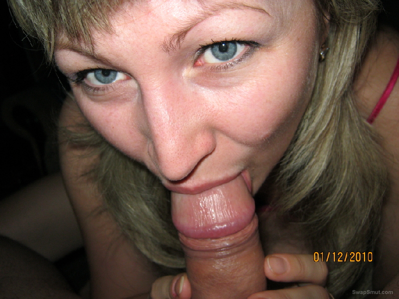 Blonde Anna Demonstrates Her Cock Sucking Skills