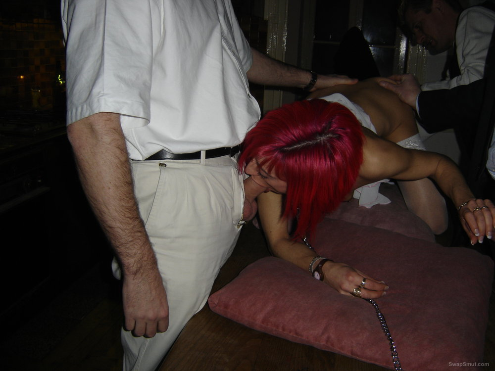 Redhead swinger milf condom cum drinker group sex fuck with strangers