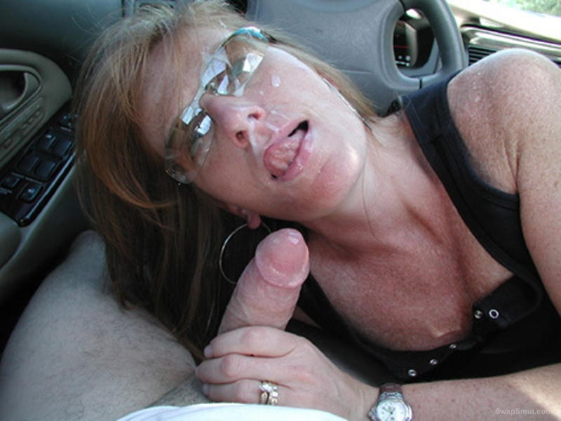 Mature spunk faced sluts