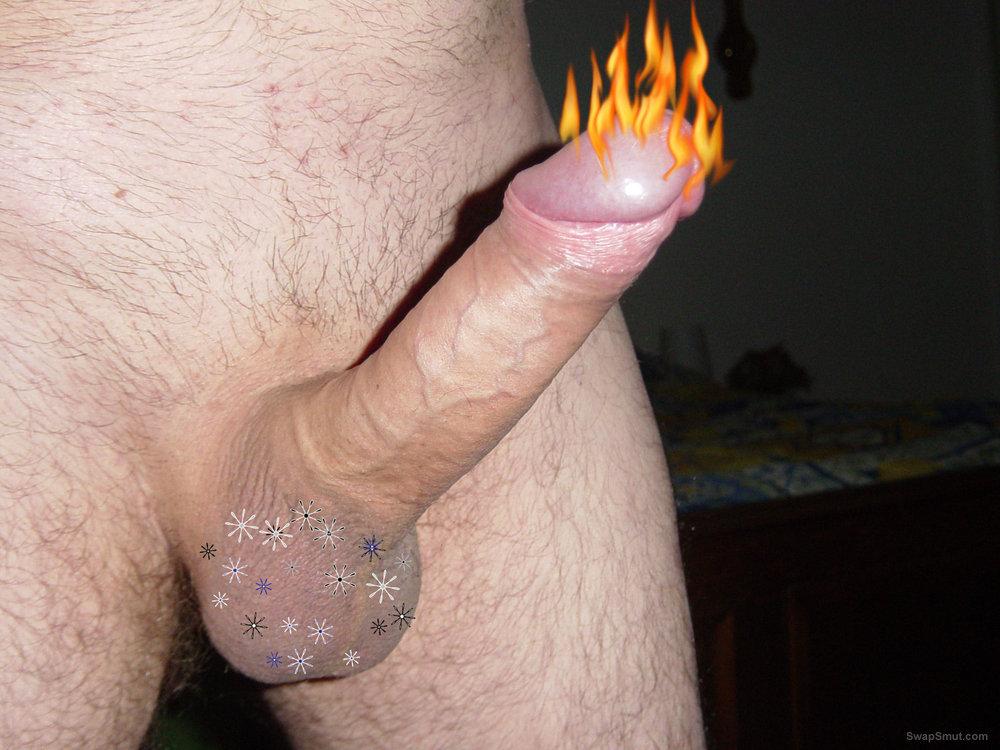 une bite en feu