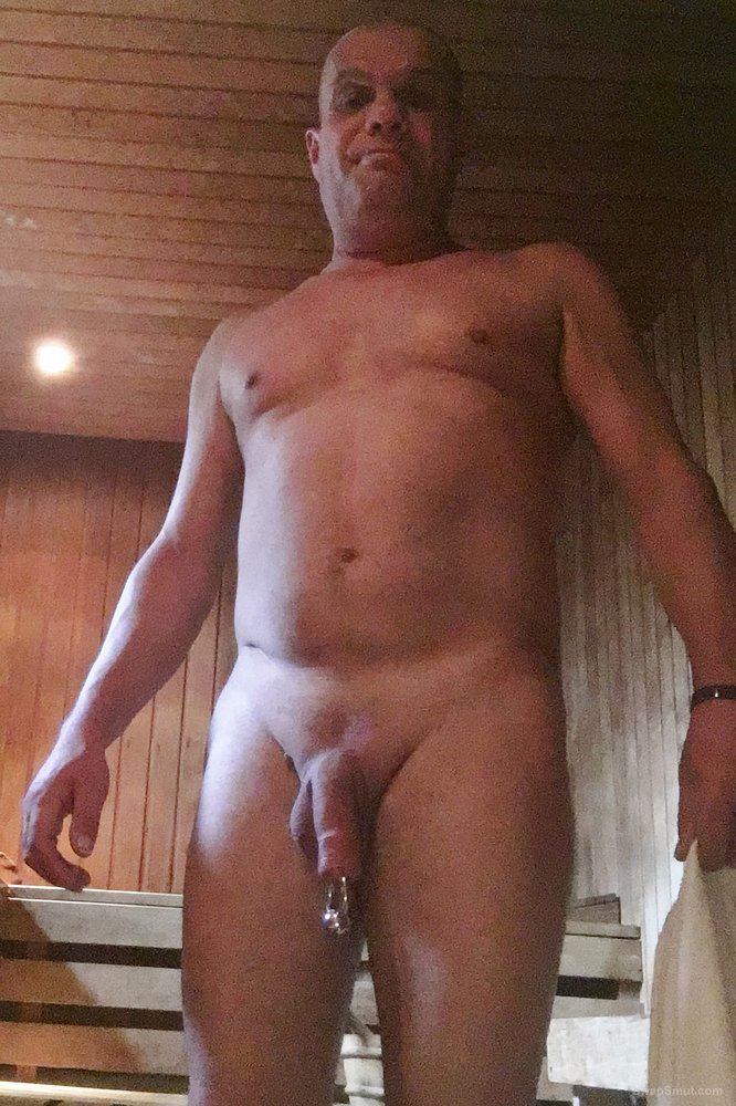 Cock in sauna