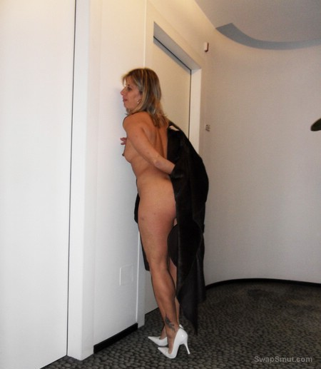 sexy milf LISA showing off at hotel and at home