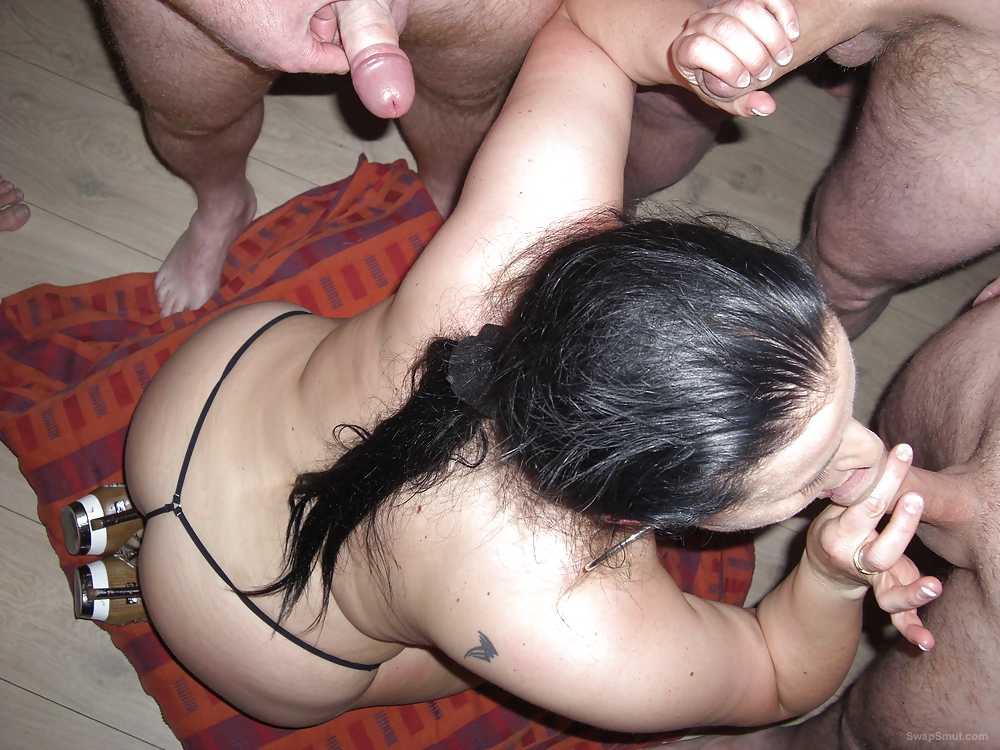 Matures sucking off her lovers and getting semen all over her face