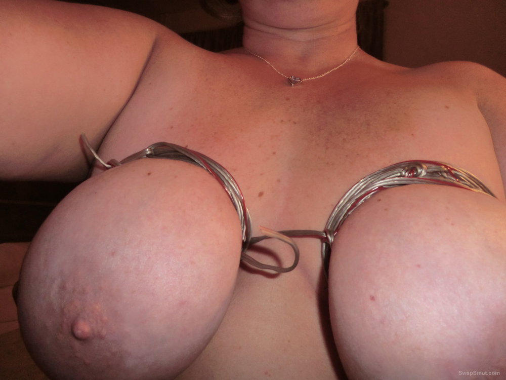 First pictures of my lovely whore bbw amateur big tits and sex toys