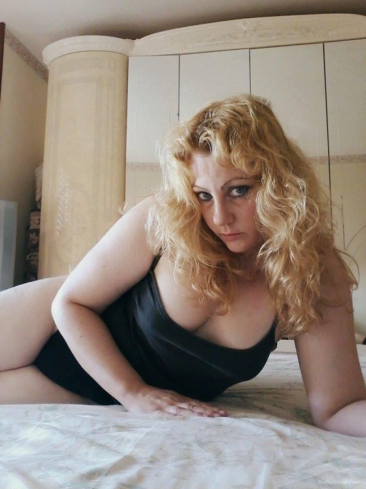 Patrizia Sexy Blonde Amatoriale Masturbation Photo