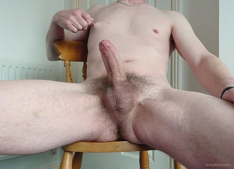Me and my cock hard for you
