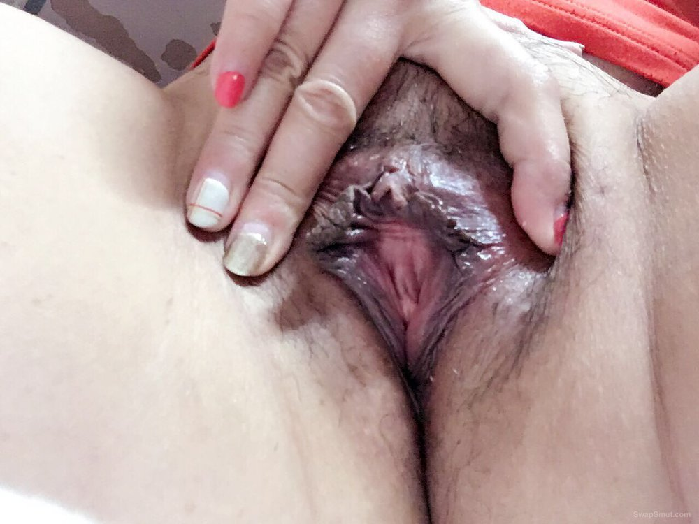 My horny girlfriend's pictures all about masturbation for me
