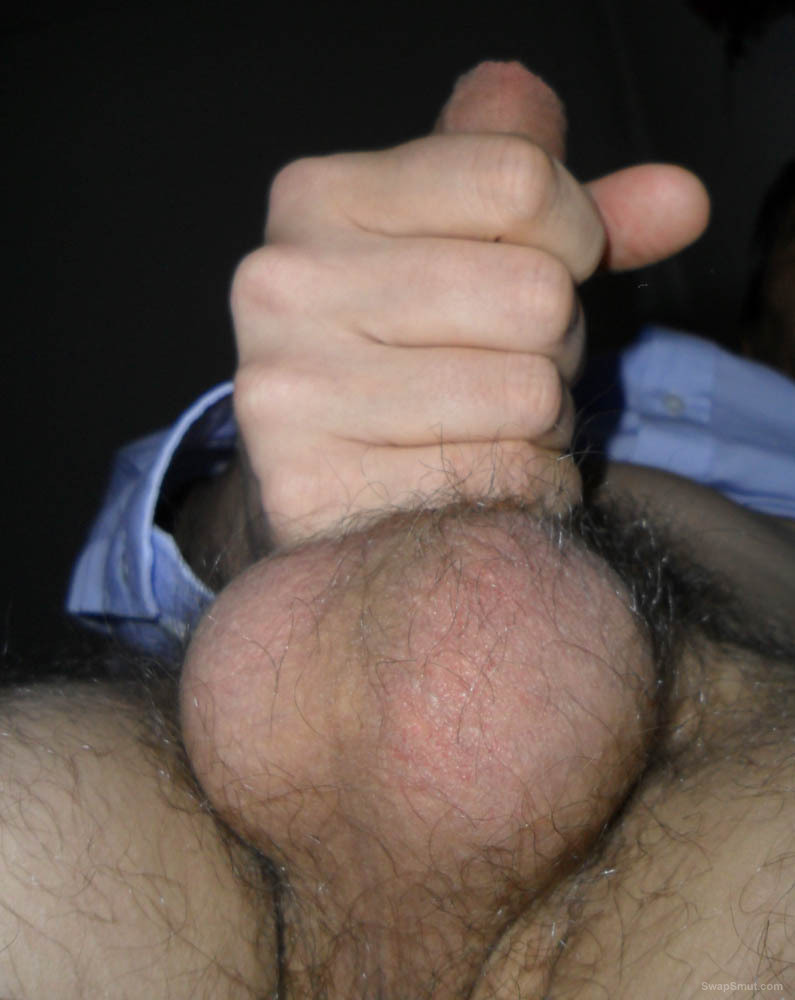 These are some more pix showing my fully erect cock