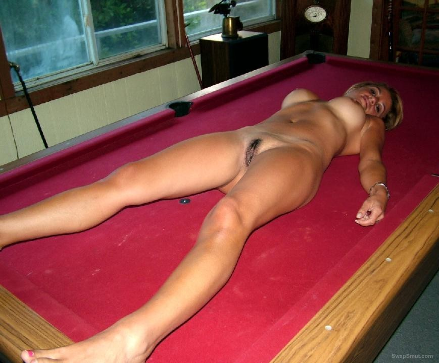 table naked pool