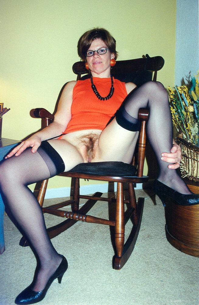 Orange Top & Stockings