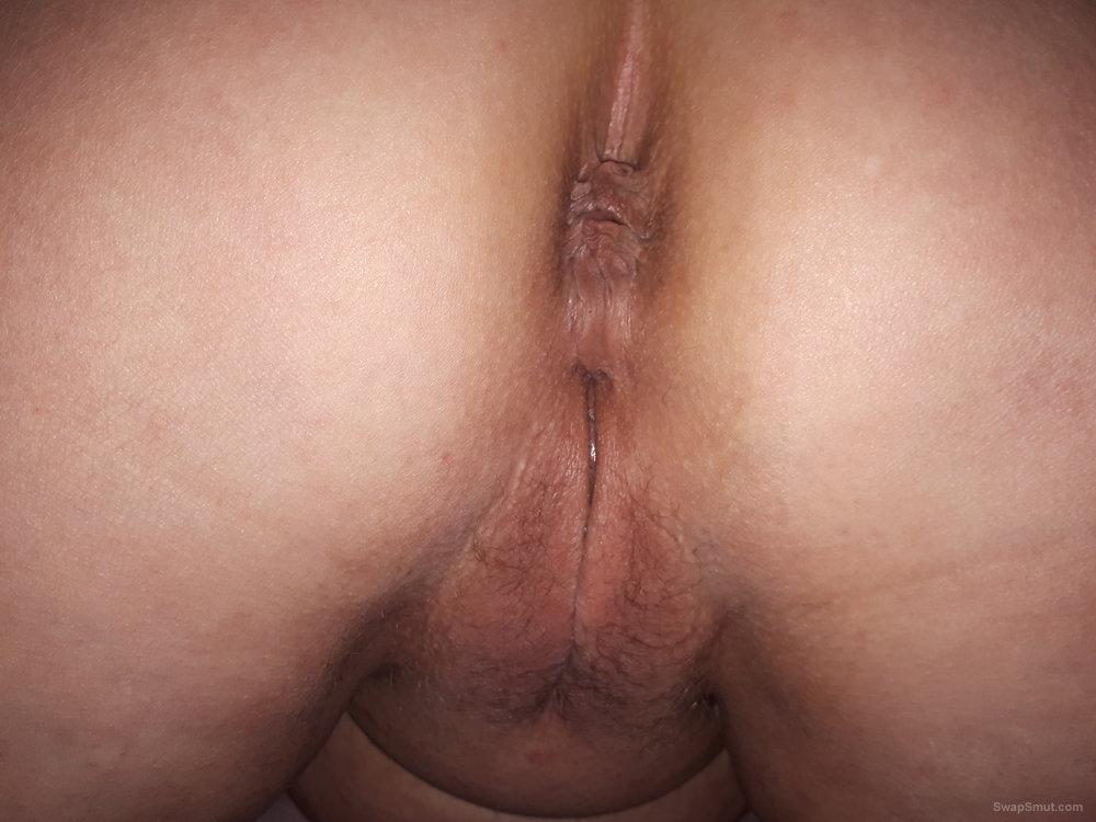 Filled pussy cum Bbw