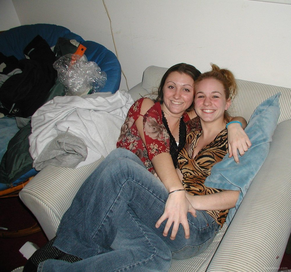 some lesbian friends