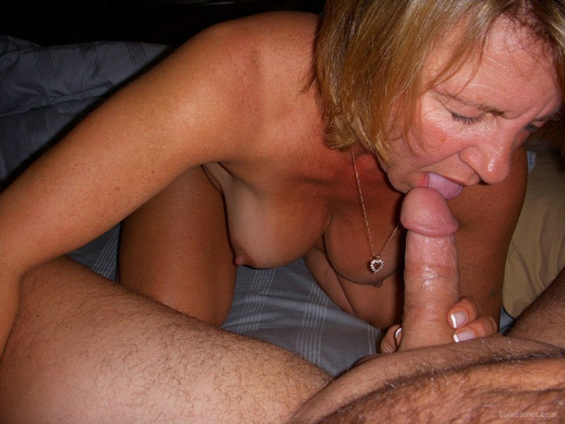 Hot oral stimulation before bareback