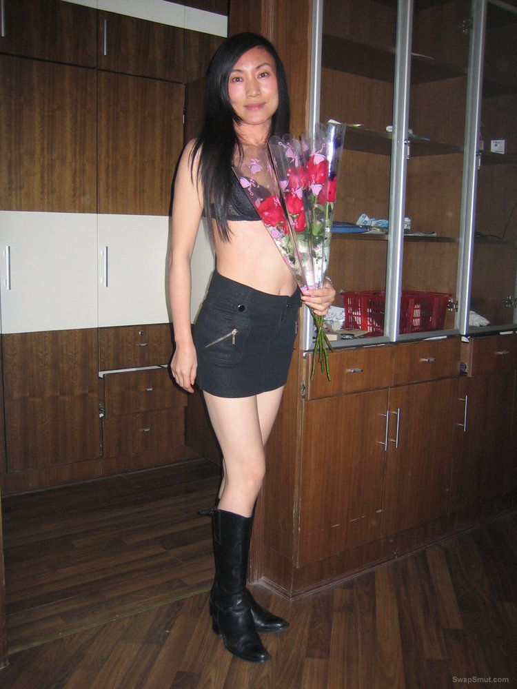 Chris - Chinese Hottie Shows Off on valentines Day Part II