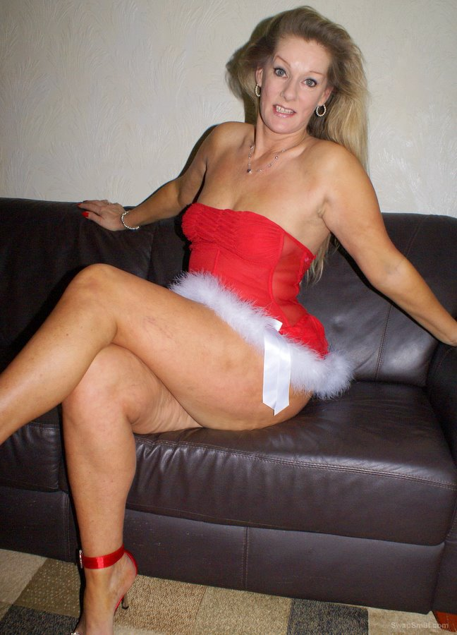 My Present to Santa's he came down my chimney