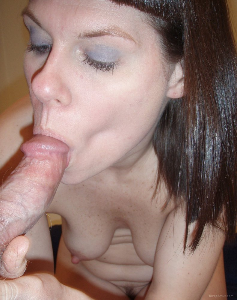 Hot and horny milf enjoy the feel of hubby's cock in her sexy mouth