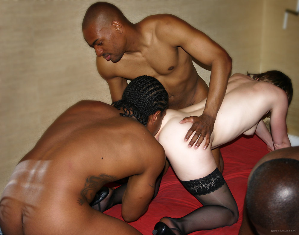 bang gang interracial swinger