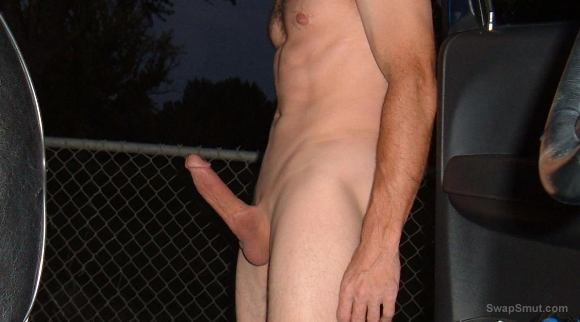 Outdoor wanking casting asshole
