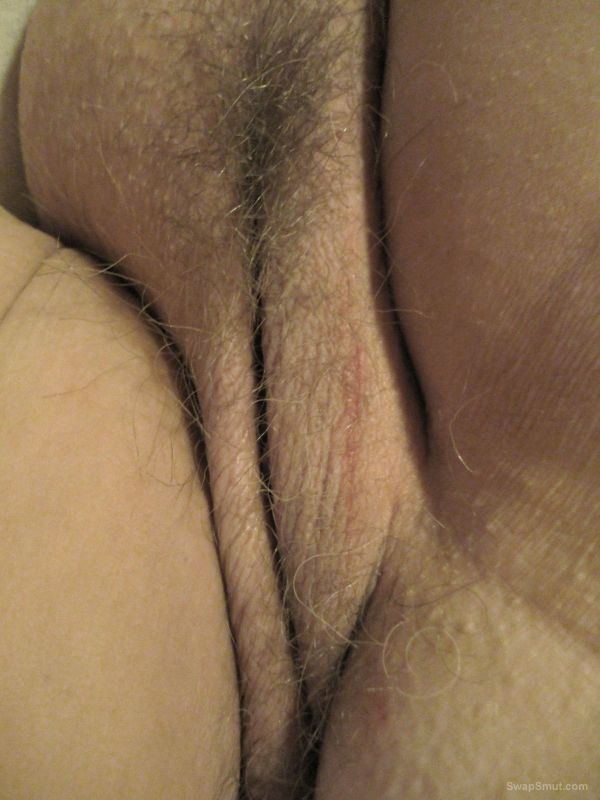 Pussy and ass from my mature BBW wife close up pictures