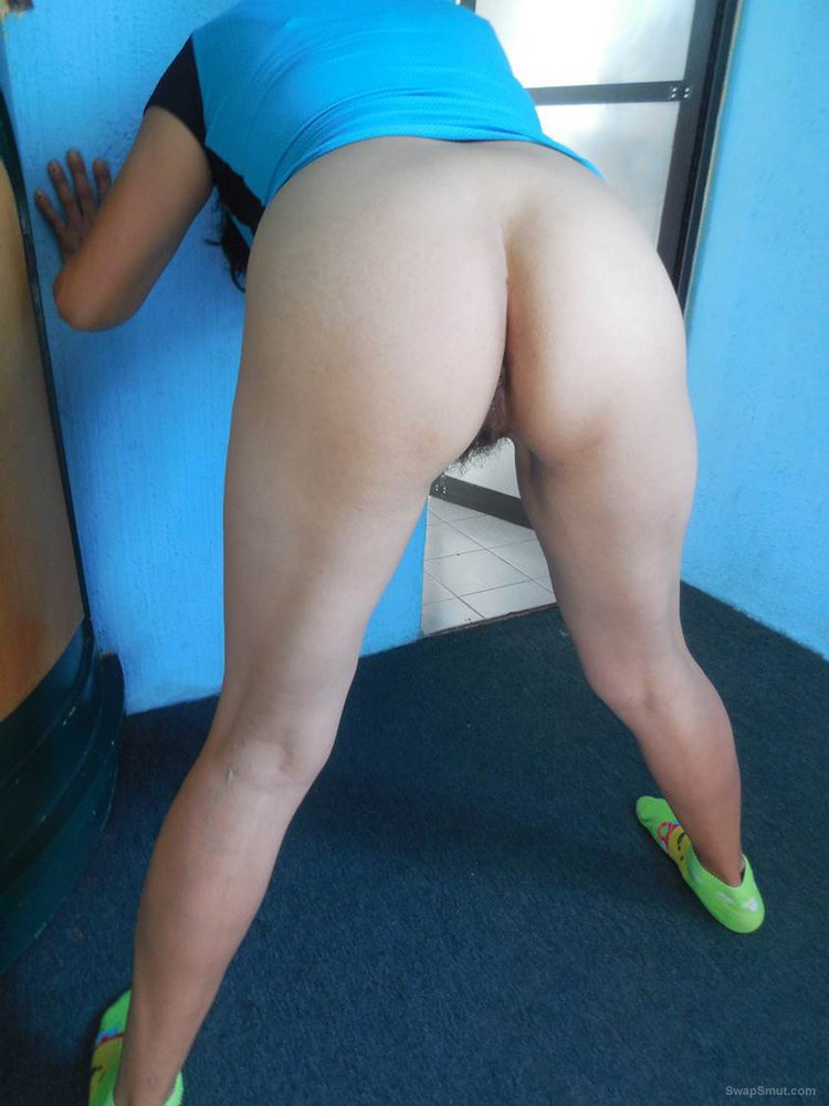 Anthology of Mexican perverted ladies standing showing her ass 05