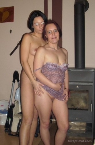 Two mature milf enjoying some lady loving touching one another