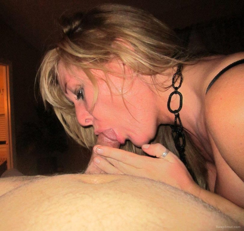 Sexy wife sharing her hot body with you giving oral sex to her lover