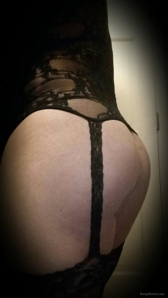 Thick Asian Ass, A little Show with, her Ass Wearing Lingerie