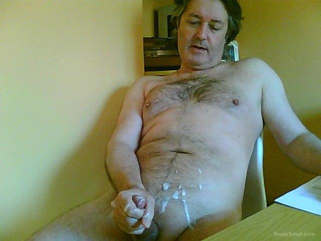 Cum to cam with Barbara more sticky sperm photos