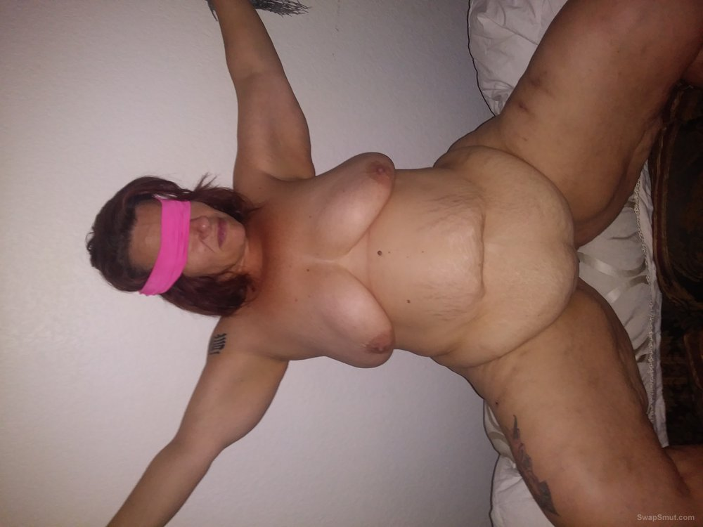New pictures of my vagina all tied up
