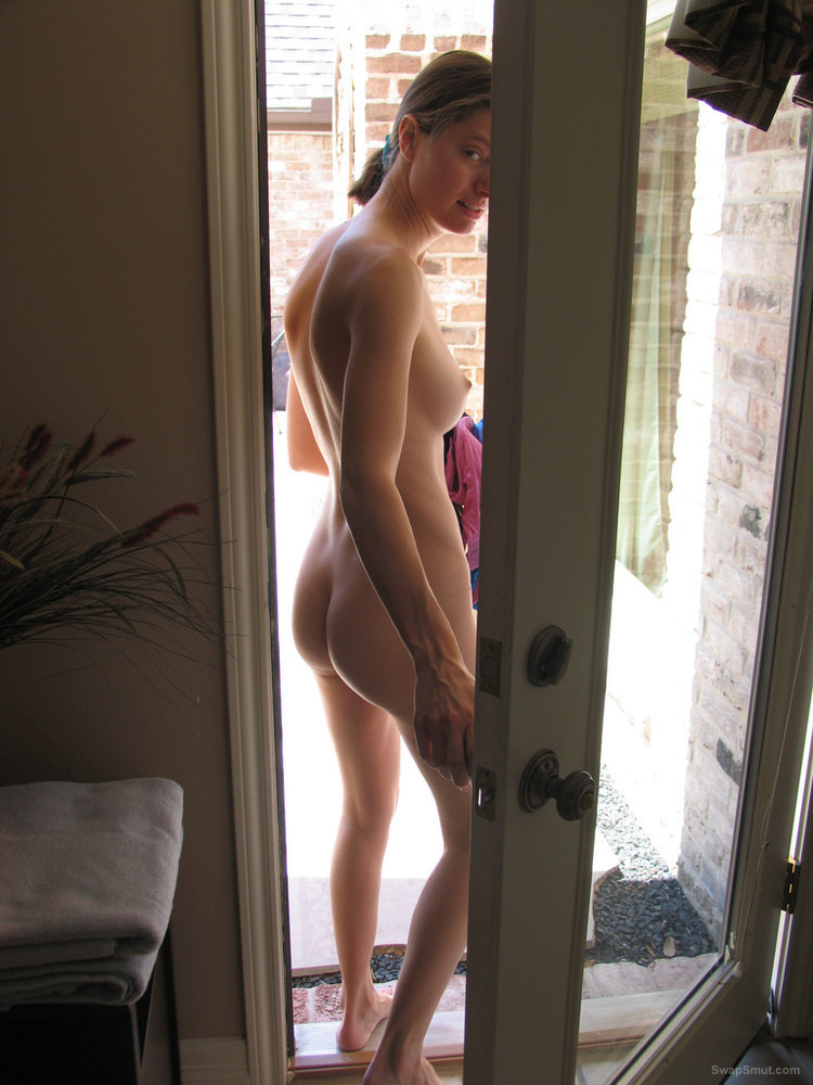 Walking around the house nude