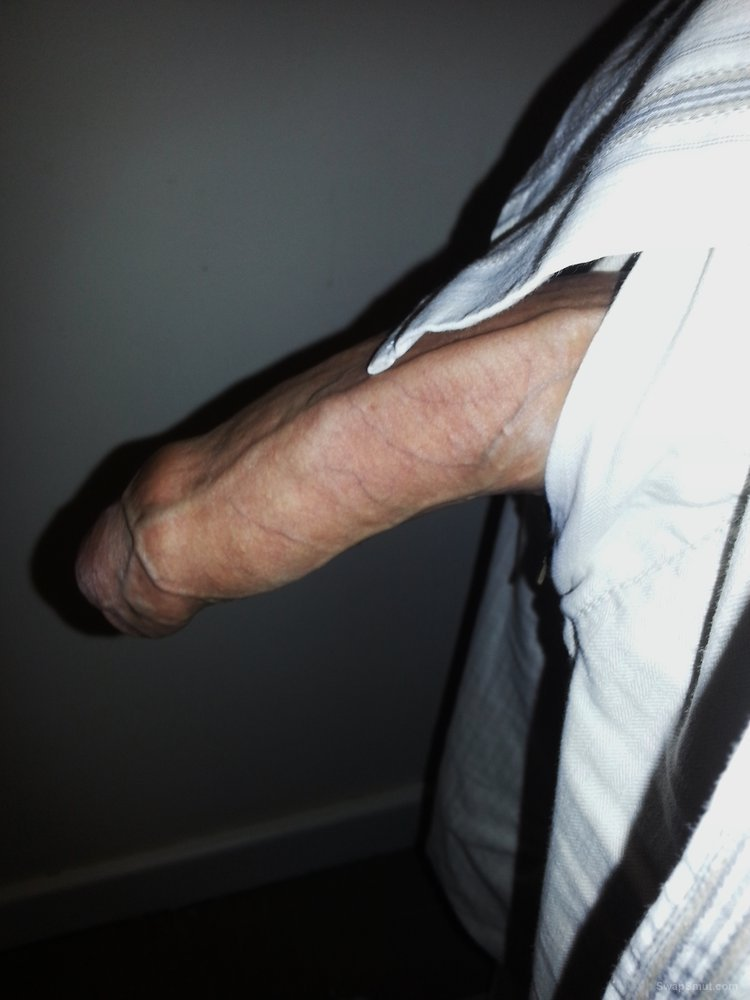 Dick pics at home while working on the computer getting an erection