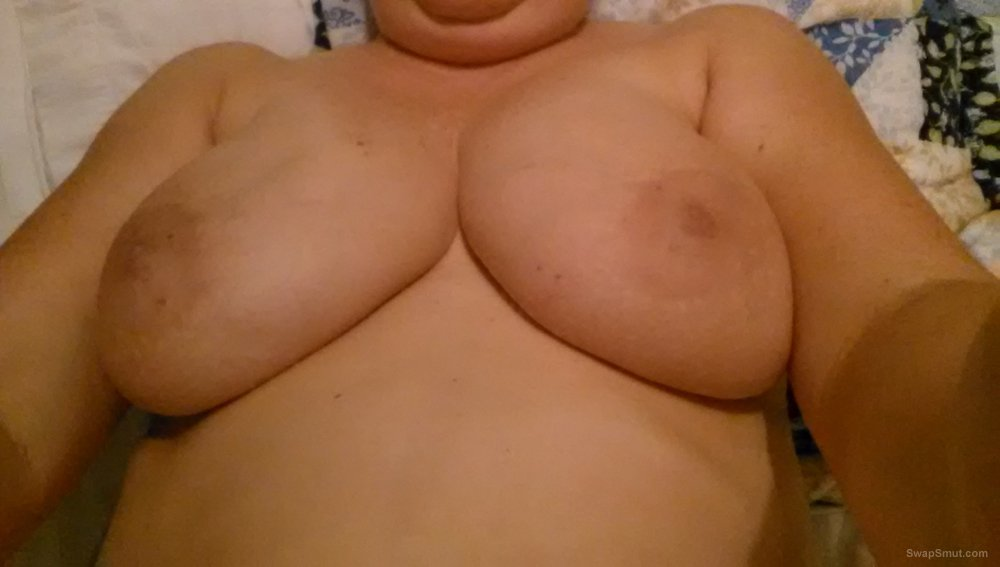 I like to show you my big tits nipples are so sensitive