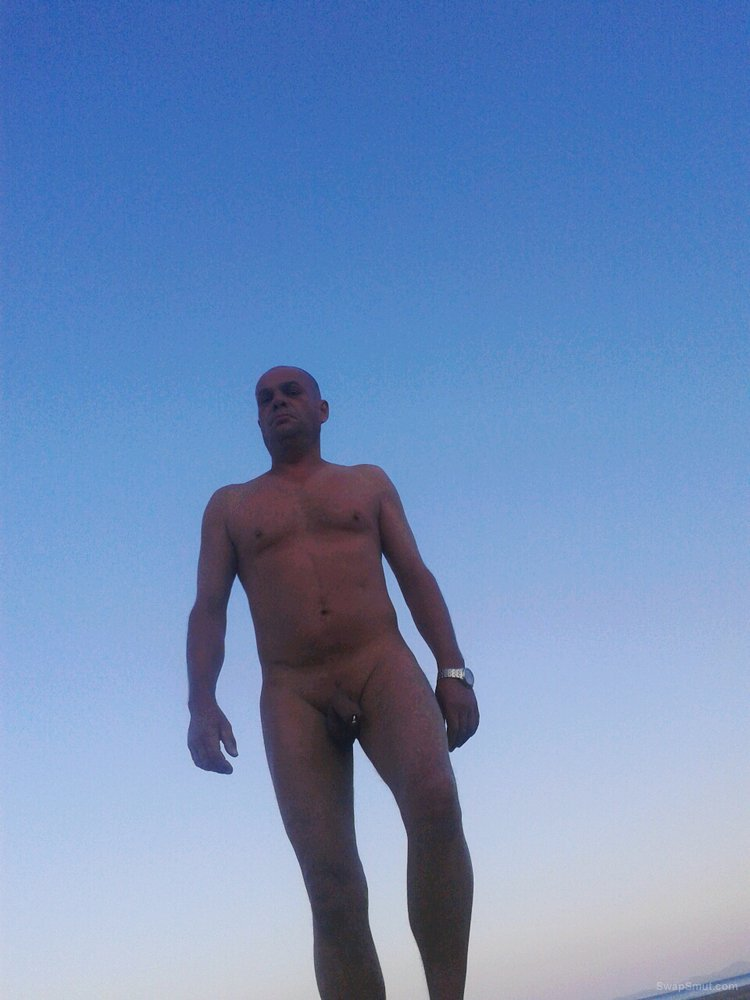 Nude beach public in devon with hardon pierced cock