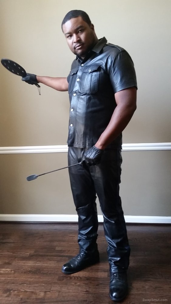 Me and my Leather Looking to misbehave and have fun