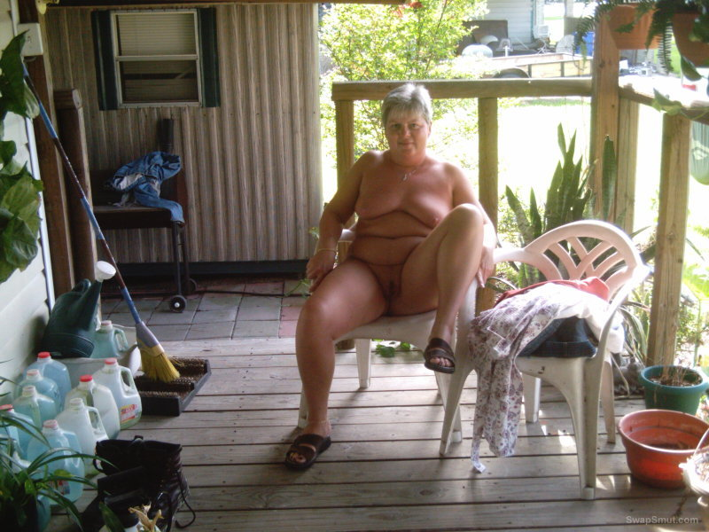 WIFEY ON THE PORCH