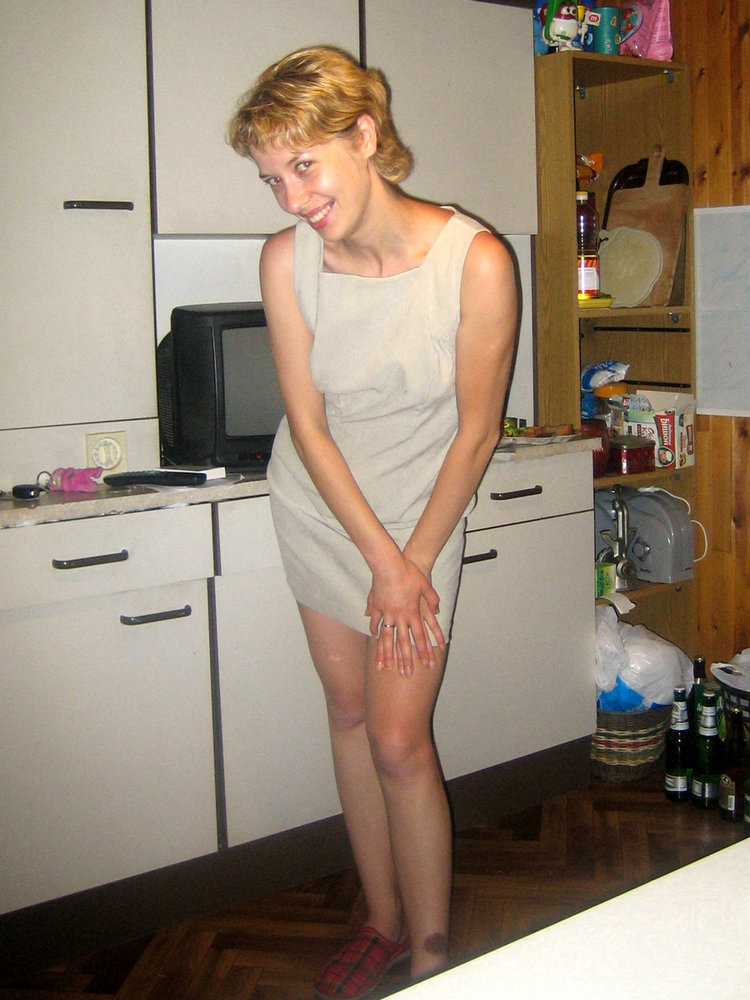 Sexy Mature Katya as Both a Redhead and a Blonde