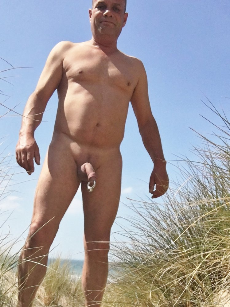 cock nude beach Big