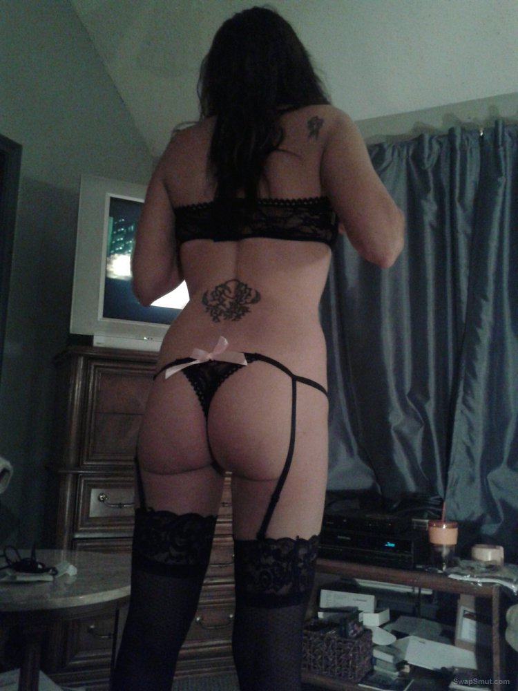 Husband went out of town and left horny