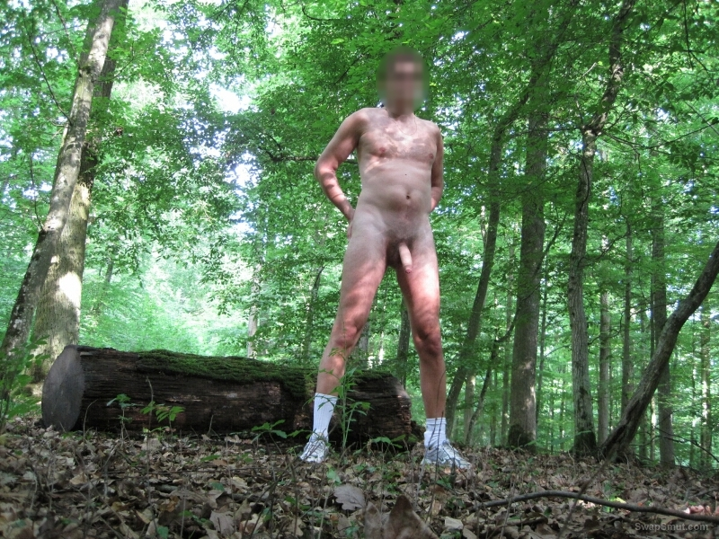 Naked Forest Pics nude in public penis photos