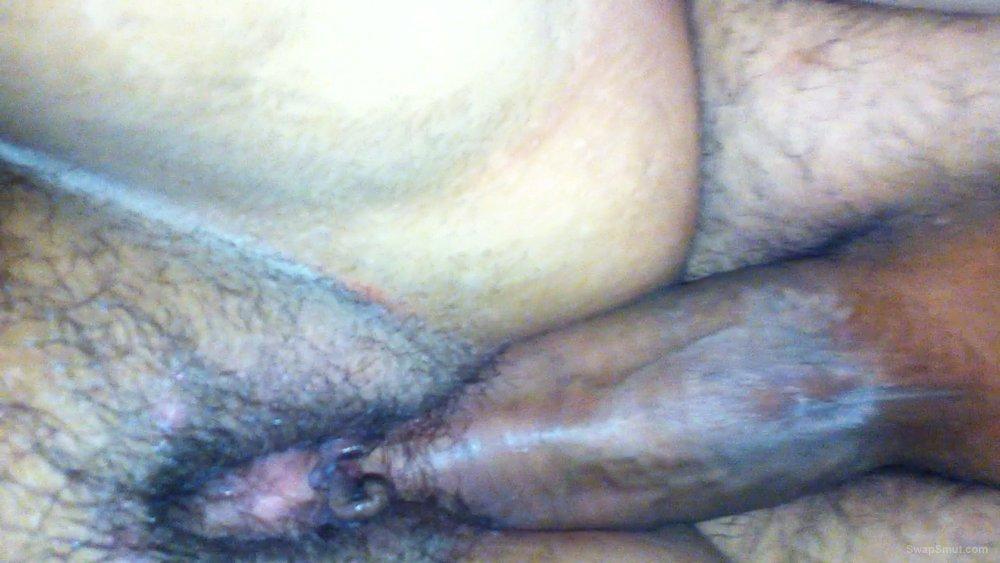 closeups of wifeys used hole stuffed with a dick